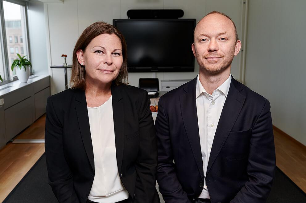 Magdalena Hartman och Tommy Fransson
