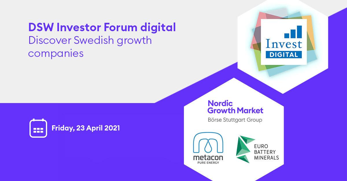 Invest Forum event